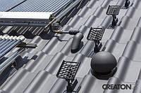 Оригінальні алюмінієві елементи систем покрівельної безпеки CREATON