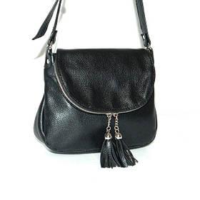 Кожаная сумка модель 19 флотар/ женская сумочка