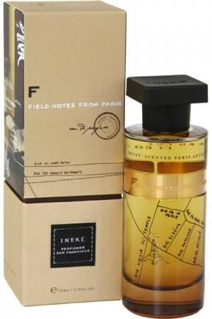 Парфюмированная вода Ineke Field Notes from Paris 75 ml