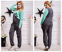 Спортивный теплый костюм с мехом ткань турецкая 3х нитка с начесом ... 9c835e91854