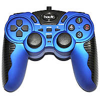 GAMEPAD HAVIT HV-G82 USB+PS2+PS3, blue Джойстик игровой