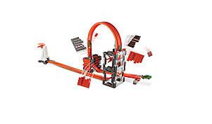 Трек Хот Вилс Ударная волна Hot Wheels Track Builder Construction Crash Kit, фото 2