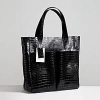 Кожаная сумка модель 2 кайман/ женская сумочка