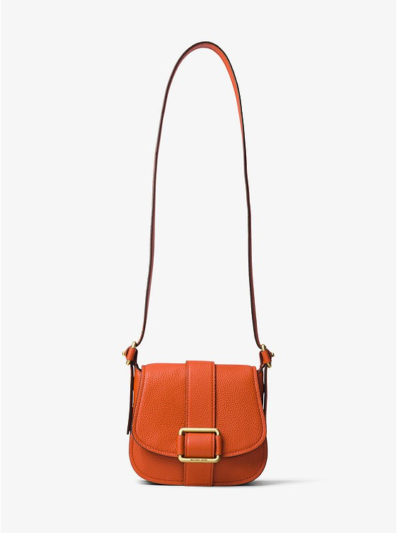 Сумка Michael Kors Maxine Medium Leather Saddlebag  30H6TUZM2L