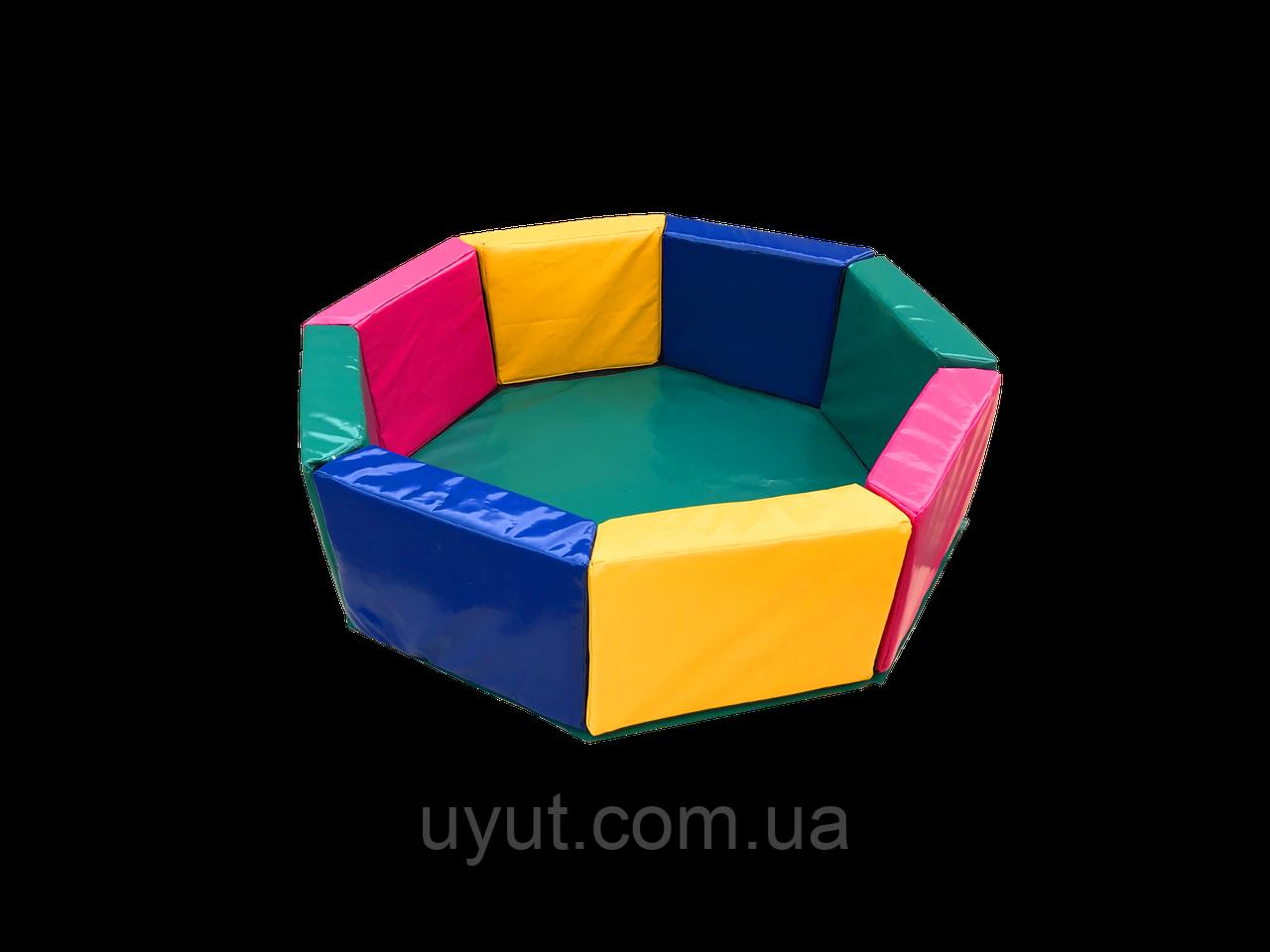 Сухой бассейн  Восьмиугольник 1,5 м