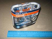 Лампа фарная HB4 51W 12V P22D Night Breaker Plus +110 (2 штук)(производитель OSRAM) 9006NBU-HCB-DUO