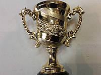 Кубок 21 см. из металлизированного пластика, фото 1