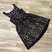 Платье женское из мягкого гипюра Араш,магазин стильной одежды