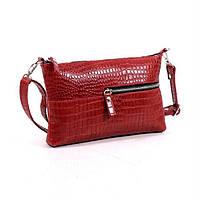 Кожаная сумка модель 10 кайман/ женская сумочка
