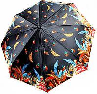 Разноцветный женский зонт полный автомат 7441465F, система антиветер