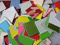 Набор высечек из бумаги и картона. Квадрат простороченный, 20 штук, 20х20 мм