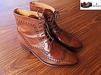 Стильные, очень качественные мужские ботинки Mezlan