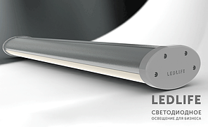 Подвесной Led-светильник Ledlife Ellipse AL Expert  54W 6480Lm 1200 мм алюминиевый