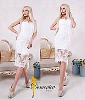 Женское модное нарядное вечернее платье (+большие размеры)