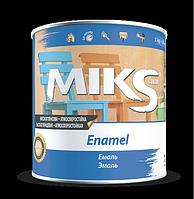 Эмаль алкидная Мікs белая 0,9 кг
