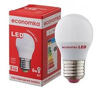 Светодиодная лампа Economka G45 6w E27
