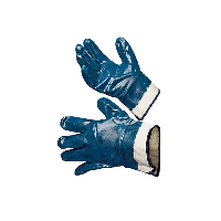 Перчатки нитриловые МБС твердый манжет