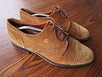 Красивые замшевые мужские туфли Stone Haven