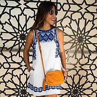 Платье женское летнее с этническим ярким принтом 2 ,магазин стильной одежды
