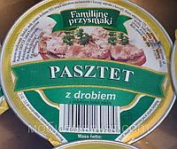 Паштет куриный Familijne przysmaki Польша 130 г