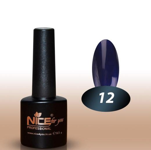 Гель-лак Nice for you №12 8,5 мл