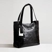 Кожаная сумка модель 1 кайман/ женская сумочка