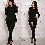 Женский модный костюм: баска и лосины (3 цвета), фото 3
