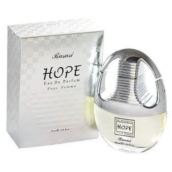 Женская парфюмерная вода Hope Women 50ml. Rasasi
