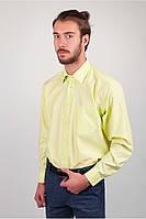 Салатовая классическая рубашка
