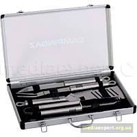 Набор аксессуаров для гриля campingaz барбекю accy в алюминиевом чемодане (10 предметов)