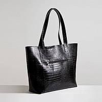 Кожаная сумка модель 3 кайман/ женская сумочка