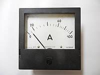 Амперметр щитовой Э365-1  100 А