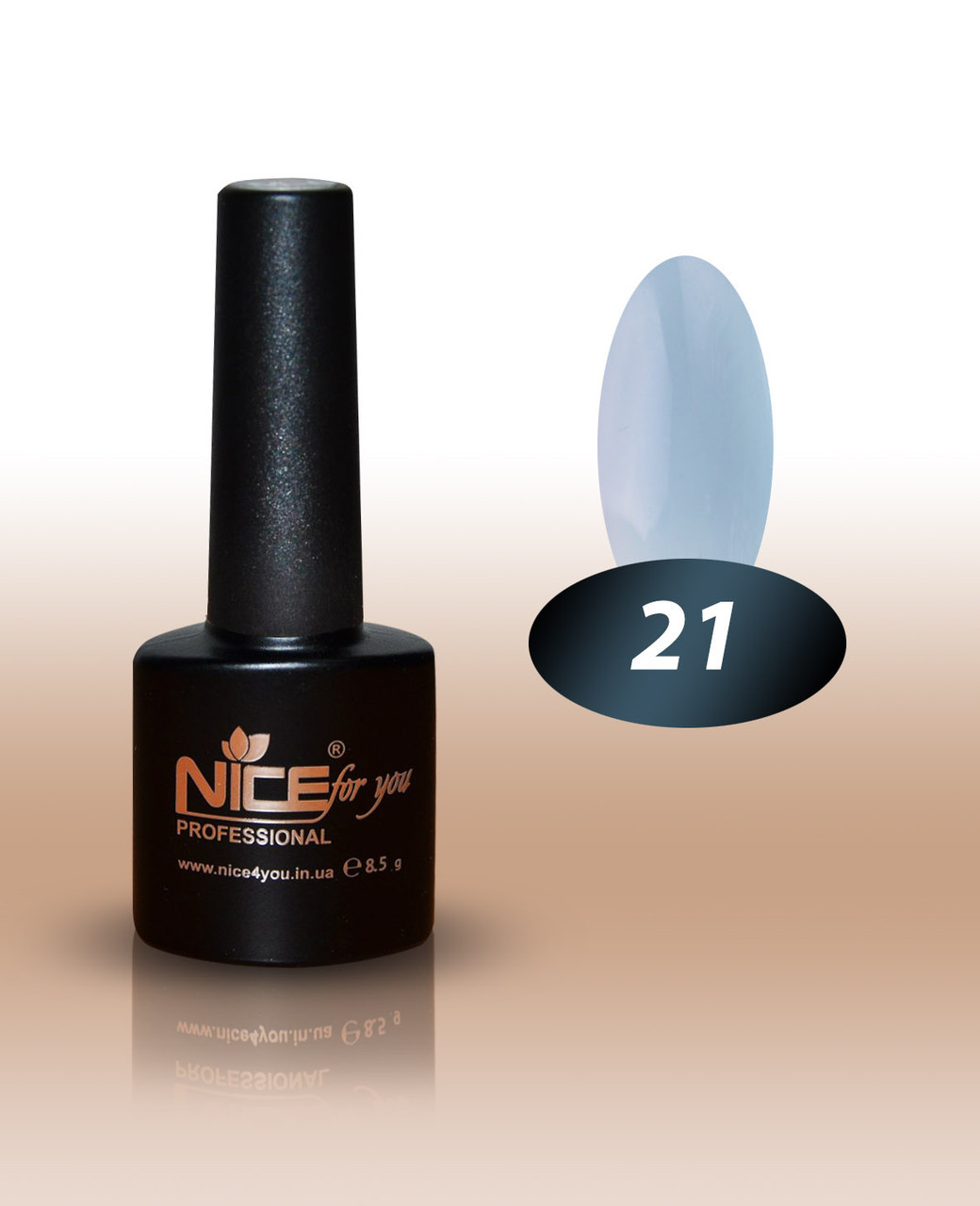 Гель-лак Nice for you №21 8,5 мл