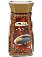 Jacobs Cronat Mild растворимый кофе 200 гр
