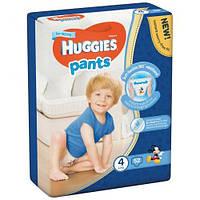 Подгузники-трусики Huggies Pants для мальчиков 4 (9-14 кг), 52 шт.