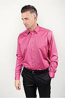 Нарядная розовая рубашка