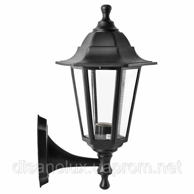 Светильник  Парковый НС06 60вт. прозрачное стекло /черный IP44