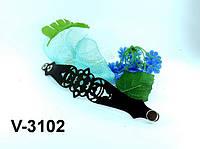 Браслет из натуральной кожи V-3102