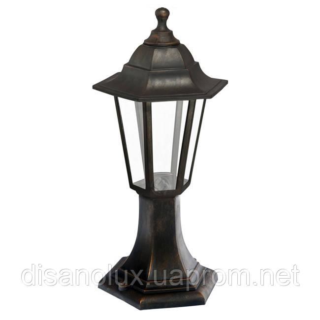 Светильник  Парковый НГ06 60вт. прозрачное стекло /черный IP44