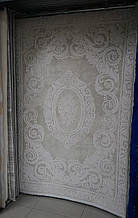 Світлий бавовняний килим в класичному стилі