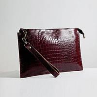 Кожаная сумка клатч модель 7 кайман/ женская сумочка