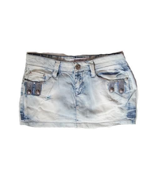 Юбка женская джинсовая летняя She голубая