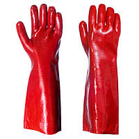 Перчатки ПВХ 35см