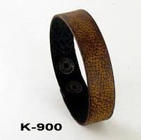 Браслет из натуральной кожи K-900