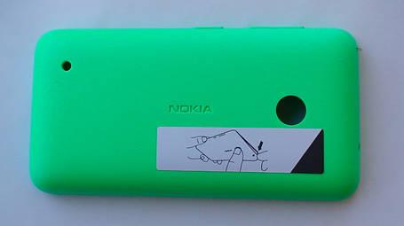 Задняя крышка Nokia Lumia 530 зелёная, оригинал, 02507L4, фото 2