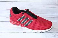 Летние мужские кроссовки, сетка, ММС1, красные