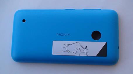 Задняя крышка Nokia Lumia 530 голубая, оригинал, 02507L5, фото 2