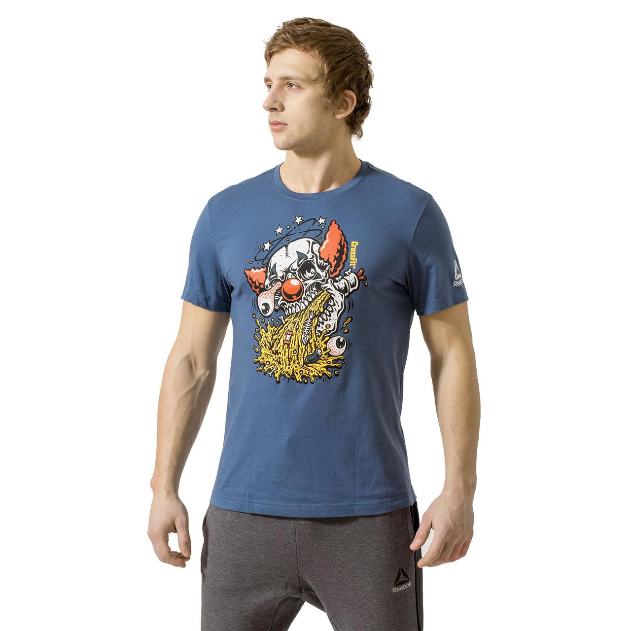 Мужская футболка Reebok CrossFit Pukie (Артикул  CD1005) - Интернет-магазин  «Эксперт df520e8d496d4