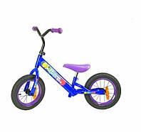 Велобег BB002 синий, стальная рама, катафоты