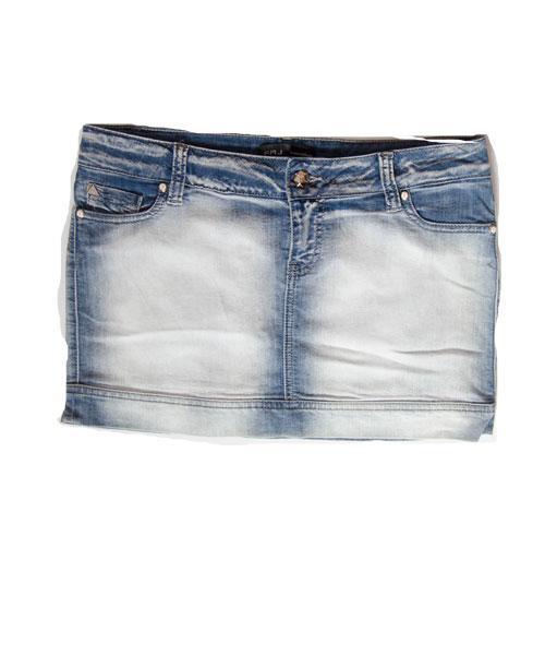 Юбка женская джинсовая летняя Free Joy синяя